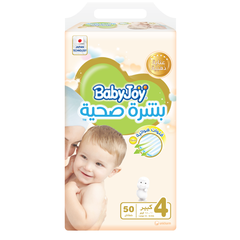 BabyJoy Healthy Skin Diaper - 4(L)